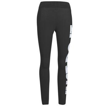 Textiel Dames Leggings Nike NSESSNTL GX HR LGGNG JDI Zwart / Wit