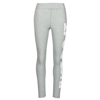 Textiel Dames Leggings Nike NSESSNTL GX HR LGGNG JDI Grijs / Wit