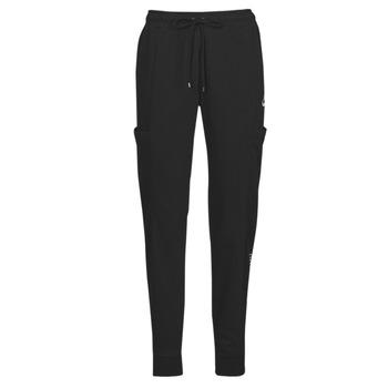 Textiel Dames Trainingsbroeken Nike NSAIR PANT FLC MR Zwart / Wit