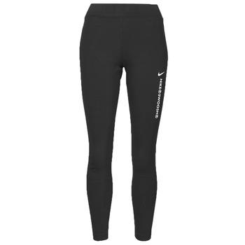 Textiel Dames Leggings Nike NSSWSH LGGNG HR Zwart / Wit