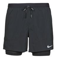 Textiel Heren Korte broeken / Bermuda's Nike DF FLX STRD 2IN1 SHRT 5IN Zwart