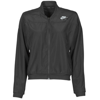 Textiel Dames Windjack Nike AIR JACKET Zwart / Zilver