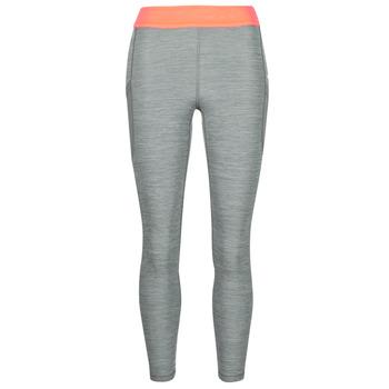 Textiel Dames Leggings Nike NIKE PRO TIGHT 7/8 FEMME NVLTY PP2 Grijs / Oranje / Wit
