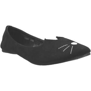 Schoenen Dames Ballerina's TUK A9008L Velvet zwart