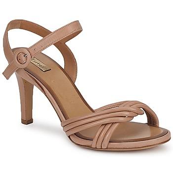 Schoenen Dames Sandalen / Open schoenen Eva Turner  Bruin
