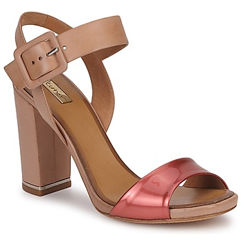 Schoenen Dames Sandalen / Open schoenen Eva Turner  Brons / Rood