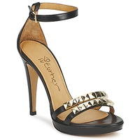 Schoenen Dames Sandalen / Open schoenen Eva Turner  Zwart