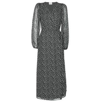 Textiel Dames Lange jurken Vila VICELIMA Zwart