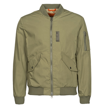 Textiel Heren Wind jackets Selected SLHSUSTAINABLE ICONICS BOMBER Kaki