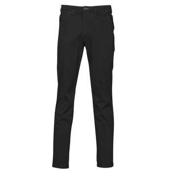 Textiel Heren Chino's Selected SLHSLIM-MILES FLEX Zwart
