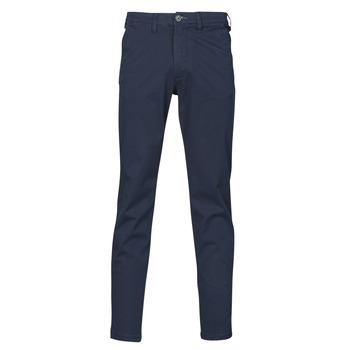 Textiel Heren Chino's Selected SLHSLIM-MILES FLEX Marine