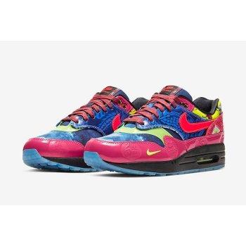 Schoenen Lage sneakers Nike Air Max 1 CNY Longevity Game Royal/Laser Crimson