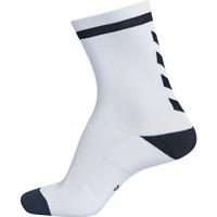 Accessoires Kinderen Sokken Hummel Chaussettes  elite indoor sock low blanc/noir