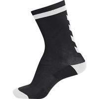 Accessoires Kinderen Sokken Hummel Chaussettes  elite indoor sock low noir/blanc