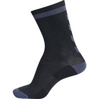 Accessoires Kinderen Sokken Hummel Chaussettes  elite indoor sock low noir/gris foncé