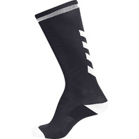 Accessoires Kinderen Sokken Hummel Chaussettes  elite indoor high noir/blanc