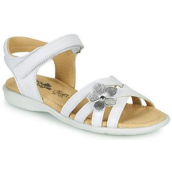 Schoenen Meisjes Sandalen / Open schoenen Citrouille et Compagnie HERTUNE Wit