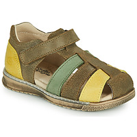 Schoenen Jongens Sandalen / Open schoenen Citrouille et Compagnie FRINOUI Kaki