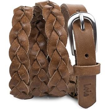 Accessoires Dames Riemen Lois Braided Leather Leder