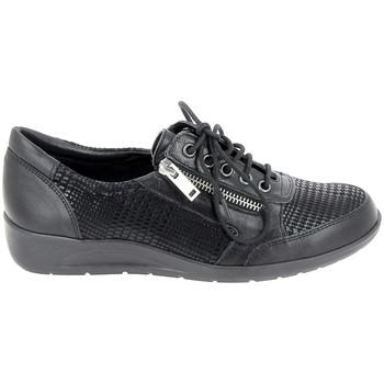 Schoenen Dames Mocassins Boissy Stephiel Noir Zwart
