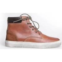 Schoenen Heren Hoge sneakers Australian SALVATOR 1 COGNAC 1020 Bruin, Cognac/Camel