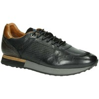 Schoenen Heren Lage sneakers Australian Massimo leather A00 15.1499.01 black Zwart