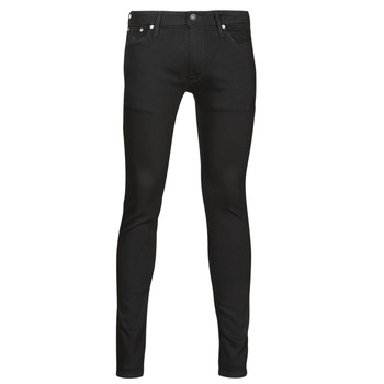 Textiel Heren Skinny jeans Jack & Jones JJILIAM Zwart