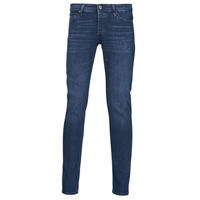 Textiel Heren Skinny jeans Jack & Jones JJIGLENN Blauw / Donker