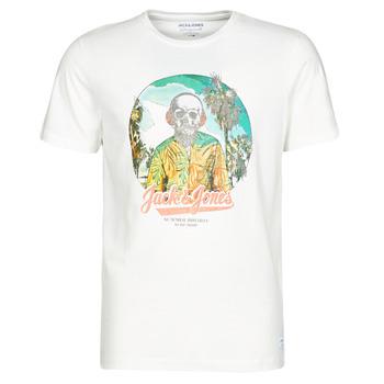 Textiel Heren T-shirts korte mouwen Jack & Jones JORDAAYS Wit