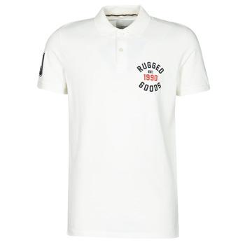 Textiel Heren Polo's korte mouwen Jack & Jones JJAPPLICA Wit