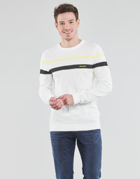 Textiel Heren Truien Jack & Jones JJSMITH Wit
