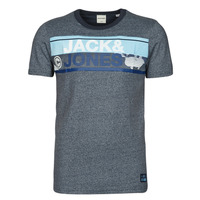 Textiel Heren T-shirts korte mouwen Jack & Jones JCONICCO Marine