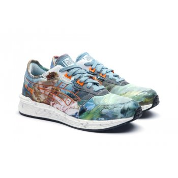 Schoenen Lage sneakers Asics Asics HyperGEL-LYTE x Vivienne Westwood  LIGHT STEEL/ORANGE