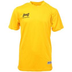Textiel Heren T-shirts korte mouwen Hungaria  Geel