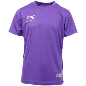 Textiel Heren T-shirts korte mouwen Hungaria  Violet