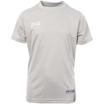 Textiel Heren T-shirts korte mouwen Hungaria  Grijs
