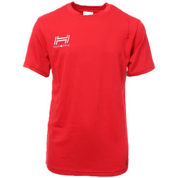 Textiel Heren T-shirts korte mouwen Hungaria  Rood