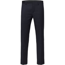 Textiel Heren Pantalons Selected 16066443 Blu