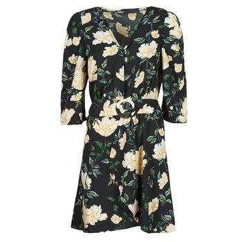 Textiel Dames Korte jurken Only ONLEVE 3/4 SLEEVE SHORT DRESS WVN Zwart