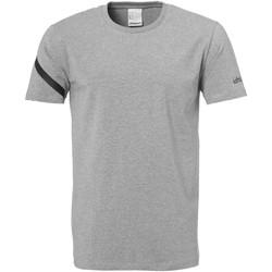 Textiel Heren T-shirts korte mouwen Uhlsport Essential Pro Shirt Grau