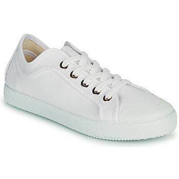 Schoenen Dames Lage sneakers Dream in Green OBRINDILLE Wit