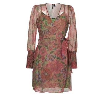 Textiel Dames Korte jurken Vero Moda VMABELIA Groen / Rood