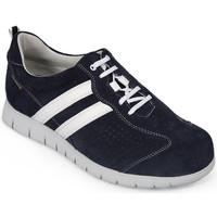 Schoenen Heren Lage sneakers Calzamedi DIABETIC SPORT SOKKEN M 2159 BLAUW