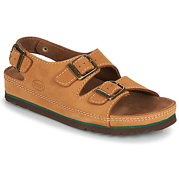 Schoenen Heren Sandalen / Open schoenen Scholl AIRBAG BACK STRAP Bruin