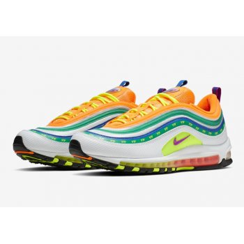 Schoenen Lage sneakers Nike Air Max 97 London Summer Of love Multicolor/Multicolor