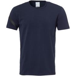 Textiel Heren T-shirts korte mouwen Uhlsport Essential Pro Shirt Blau