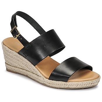 Schoenen Dames Sandalen / Open schoenen Dream in Green OLEM Zwart