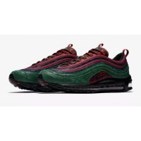 Schoenen Lage sneakers Nike Air Max 97 NRG Midnight Spruce  Team Red/Midnight Spruce