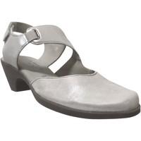 Schoenen Dames pumps Mephisto MAYA leer grijs