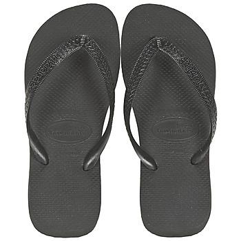 Schoenen Teenslippers Havaianas TOP Zwart